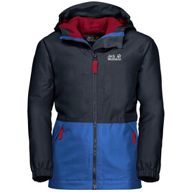 Jack Wolfskin Snowy Days Jack Kinderen, night blue